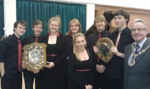 Winners at the Sutton Musical Festival Nov 2012