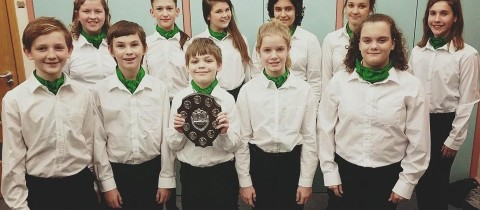 CHAMBER CHOIR WINS SHIELD FOR FIFTH TIME!