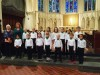 CLOCK HOUSE CHOIR WIN SILVER MEDAL